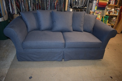 Washable Firm or Baggy Sofa, Chair and Ottoman Loose Covers or Slipcovers made in Melbourne
