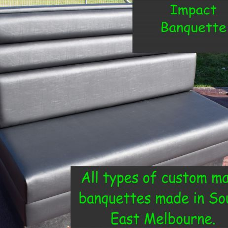 Impact stylish banquettes made in your colour and size by JARO Melbourne