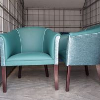 Tub Chair Reupholstery Service in Melbourne & Gippsland areas