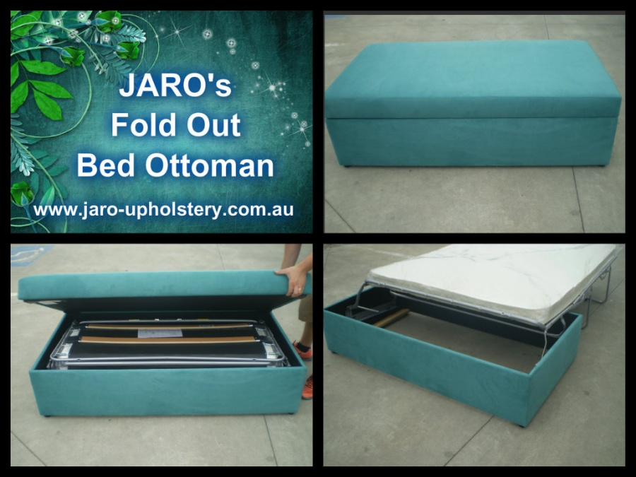 Jaro S Fold Out Bed Sofa Ottomans Window Seating Available In Melbourne Upholstery Servicing All Areas Including Phillip Island Berwick