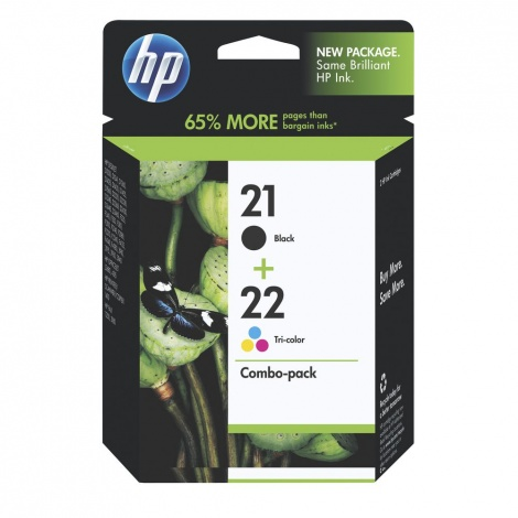Hp 22/21 gb/clr combo pack
