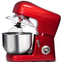 800W Stand Mixer (Red) 5L Stainless Bowl