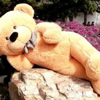 2M Giant Teddy Bear (Light Brown)