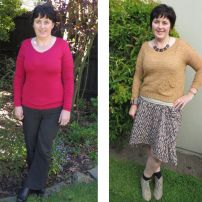Before/After Photos of Sharon