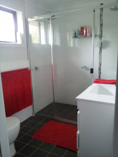 Ensuite With Double Shower Heads