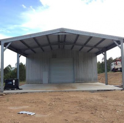 Industrial Size Shed