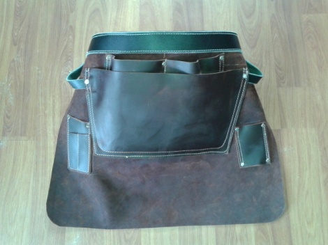 Leather Builders Apron
