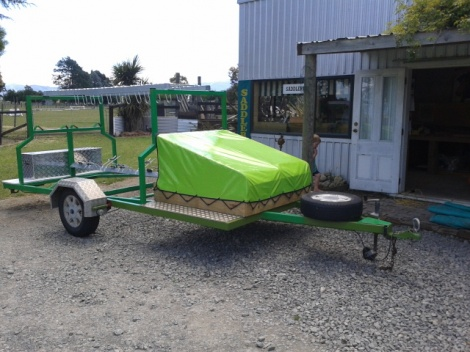 Cycle Trailer Cover