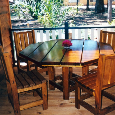 Outdoor Table and Chairs - small