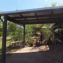 Skillion Roof Carport