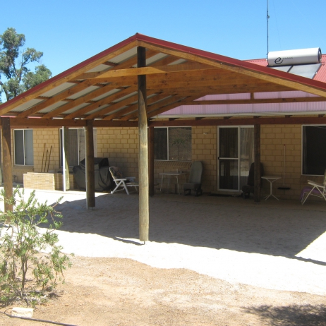 Large Cable Roof Patio