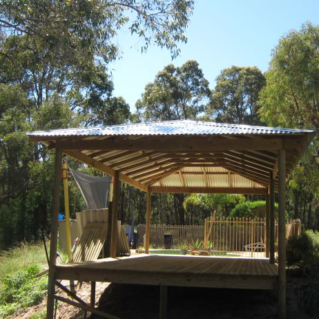 Hipped Roof Gazebo