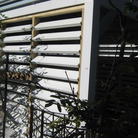 Louvres Outside View