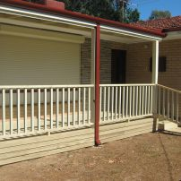 Verandah with Balustrade