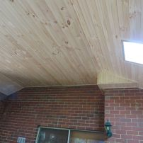 Pine Lining to Patio