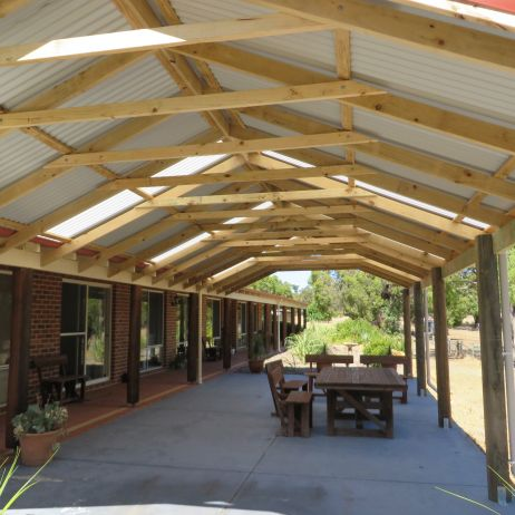 Large Gable Roof Patio