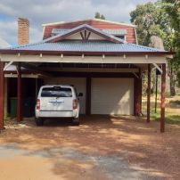 Dutch Gable Double Carport