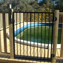 Powder Coated Pool gate