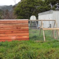 I) 4mtr Chicken Coop with Double bay house