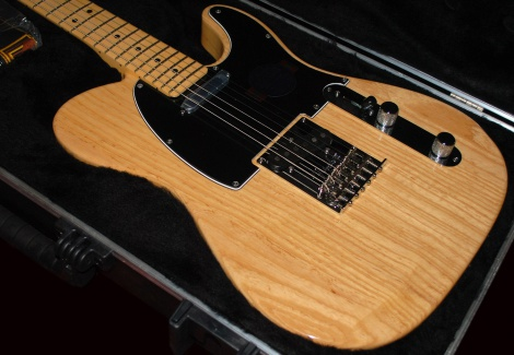 2012 FENDER AMERICAN STANDARD TELECASTER - NATURAL - BRAND NEW - 100% MINT