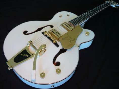 2012 GRETSCH GUITARS G6136T WHITE FALCON w/BIGSBY