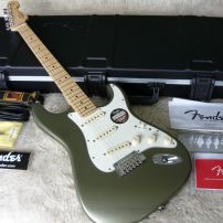 2013 FENDER AMERICAN STRATOCASTER - JADE PEARL METALLIC - MN
