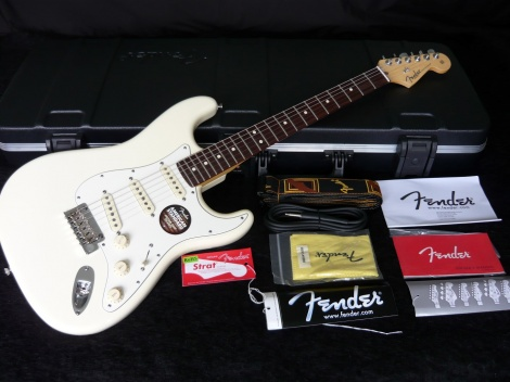 FENDER AMERICAN STANDARD - OLYMPIC WHITE - RW
