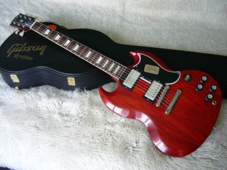 Gibson SG Standard Reissue Custom Shop - Faded Cherry