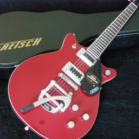 GRETSCH 5655T - Rosa Red with Case