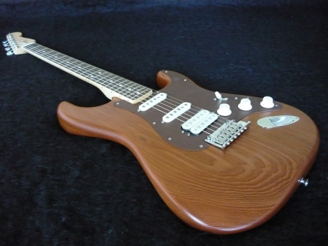 2014 FENDER RECLAIMED OLD GROWTH REDWOOD STRATOCASTER - Retail $3700