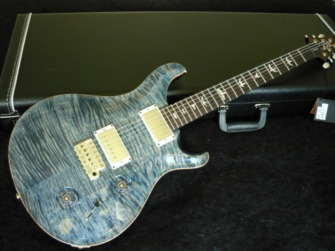 PRS CUSTOM 22 - FADED WHALE BLUE - TOP 10 TOP