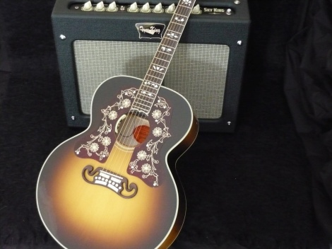 GIBSON BOB DYLAN SJ-200 ACOUSTIC LIMITED EDITION - Custom Shop - Players Edition