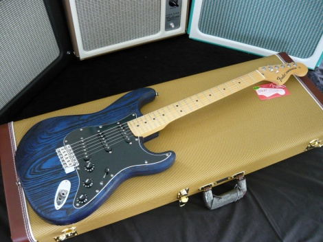FENDER LIMITED EDITION SANDBLASTED STRATOCASTER