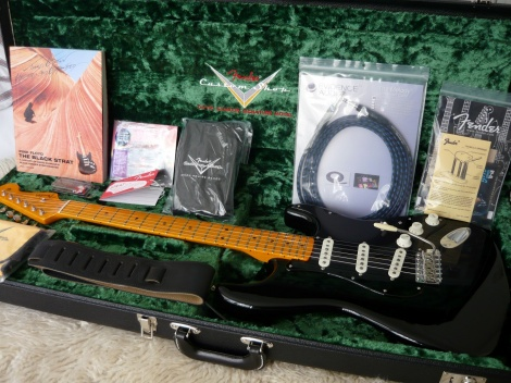 FENDER DAVID GILMOUR CUSTOM SHOP NOS STRATOCASTER