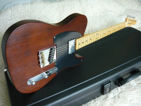 FENDER LTD EDITION REDWOOD TELECASTER