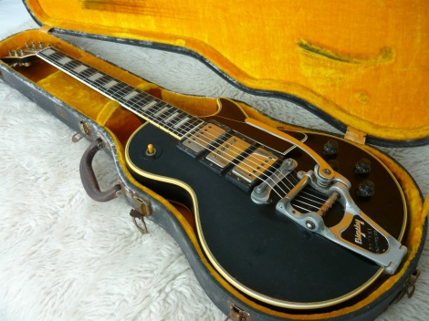 1960 VINTAGE GIBSON Les Paul Custom Black Beauty - 3 pick ups