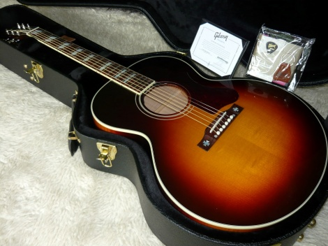 2016 GIBSON CUSTOM SHOP J-185 LIMITED EDITION ACOUSTIC/ELECTRIC