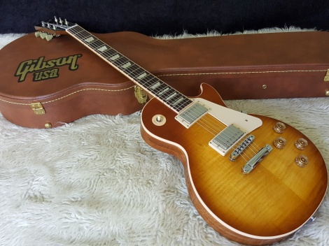 GIBSON 2016 LES PAUL TRADITIONAL T - Honey Burst - Premium finish