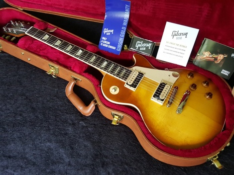 GIBSON 2016 LES PAUL STANDARD FADED 50s Honeyburst  Limited Run - 57 Classic Humbuckers