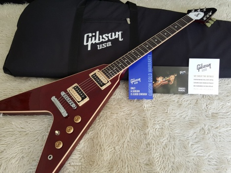 GIBSON FLYING T 2016 Wine Red