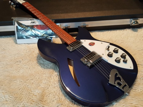 Rickenbacker 330/6 String Midnight Blue