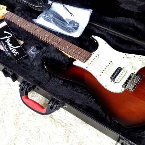FENDER AMERICAN DELUXE LIMITED EDITION MAHOGANY STRATOCASTER HSS