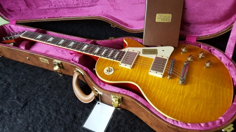 GIBSON LES PAUL STANDARD 58 REISSUE - VOS - LEMON BURST