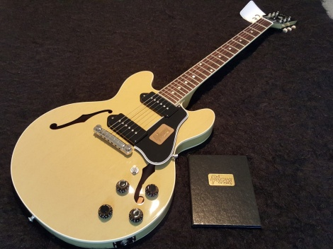 GIBSON CS-336 - TV YELLOW