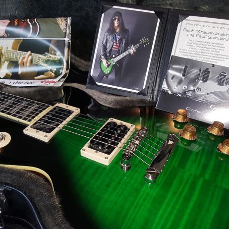 SLASH 2018 LES PAUL STANDARD ANACONDA BURST