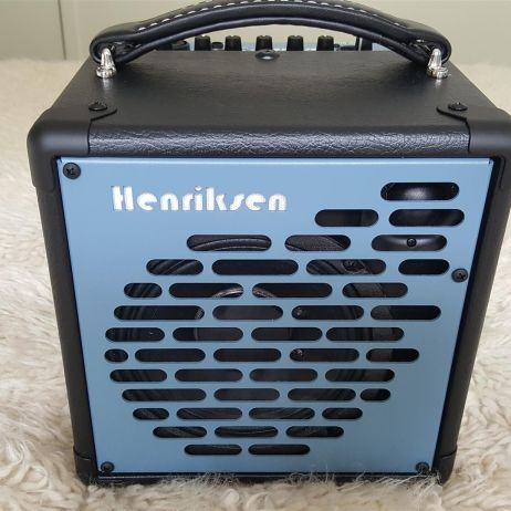 The Blu Henriksen Amplifiers 120w Smallest truly gigable Amp