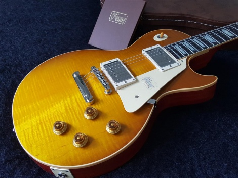 Gibson Les Paul Historic 58 Reissue Honey Lemon Fade