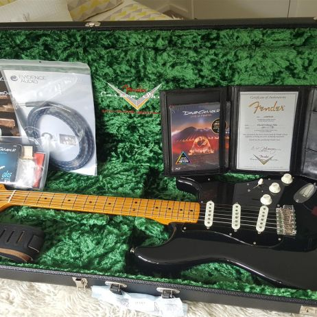 Fender 2019 David Gilmour Custom Shop NOS Stratocaster. Fender Artist 30th Anniversary. RRP $9,999