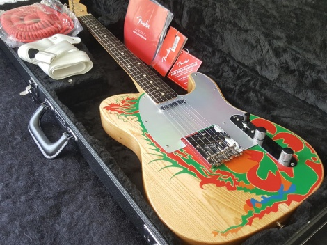 FENDER 2019 JIMMY PAGE DRAGON TELECASTER