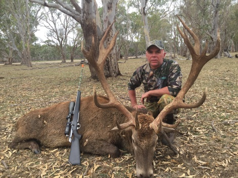 Peter with his very nice red stag